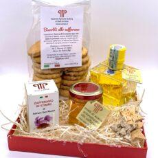 Confezione prodotti allo zafferano